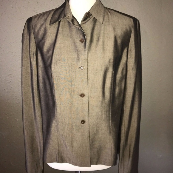 Beautiful Silk Jacket by Ann Taylor ~ Size 12